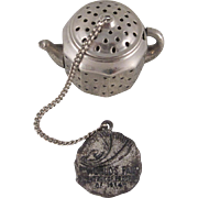 Chicago 1934 World's Fair Tea Strainer