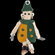 Vintage Clown Sewing Doll Caddy