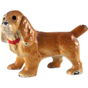 Hubley Cast Iron Cocker Spaniel Party Favor/Figure
