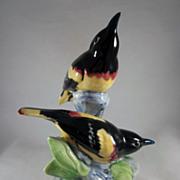 Stangl Pottery Double Oriole Bird Figure