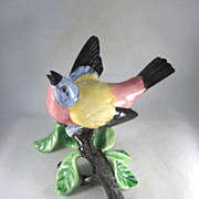 Stangl Pottery 3452 Painted Bunting Bird Figurine