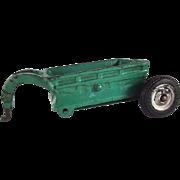 Arcade Cast Iron Bottom Dump Trailer Farm Implement Toy