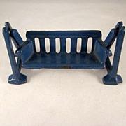 Kilgore Cast Iron Swing Dollhouse Furniture
