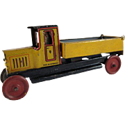 Made in Germany Georg Fischer Tin Litho Dump Truck