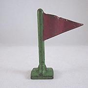 Arcade Cast Iron Rippled Flag 1938-41