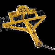 Arcade Cast Iron Disc Harrow Farm Implement Toy