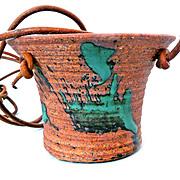 Otto & Vivika Heino Pottery Early Piece Hanging Planter