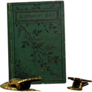 "SALE ""Butterfly's Ball and The Grasshoppers Feast"" 1882 Children's Book"