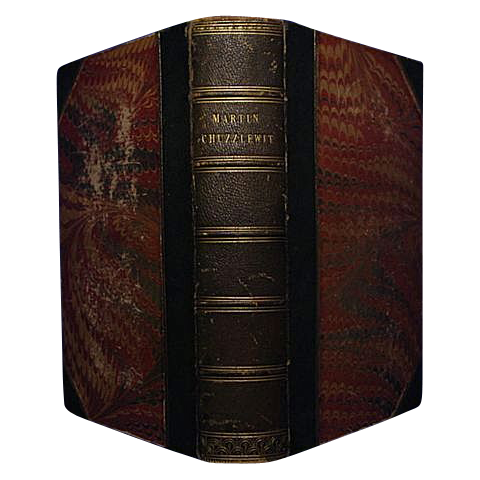"""""""Martin Chuzzlewit"""" Charles Dickens 1st Book Ed.,  1844"""