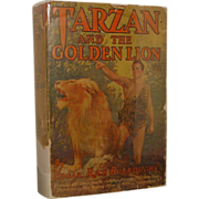SALE Tarzan and The Golden Lion,   Burroughs   Photoplay