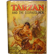 SALE Tarzan and The Leopard Men,  publisher Burroughs 1935 1st