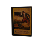 SALE Vintage Copy Kidnapped by Robert Louis Stevenson 1921