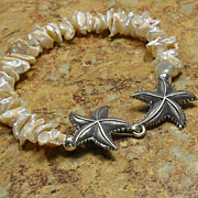 Keishi Pearl Starfish Bracelet