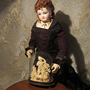 Miniature Domed Whimsy for Doll Display