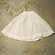 Vintage Soft Cotton Petticoat