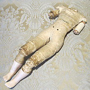Antique Rohmer French Fashion Body - Porcelain Feet and Shoulderplate