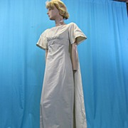 Vintage wedding gown 1960s Miss Betsy w train all silk