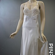 Vintage 1980s slip early Victoria's Secret nightgown bridal