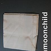 Vintage men's silk handkerchief Early 20th Century