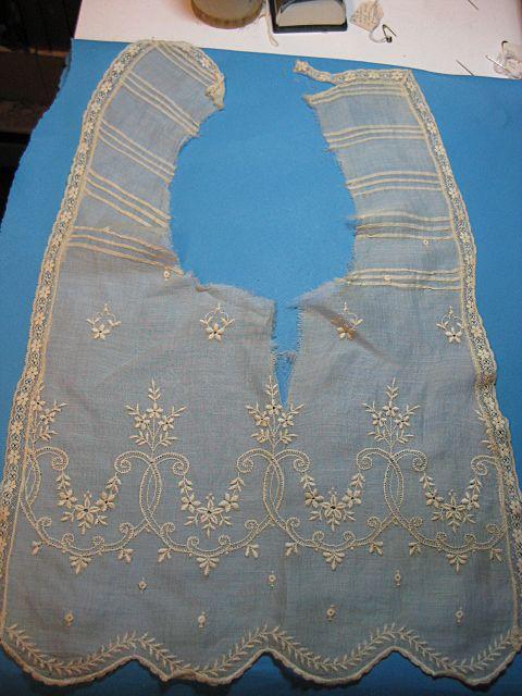 Vintage lace collar Edwardian era