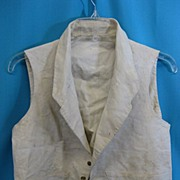 Antique waistcoat vest mens early 1820s
