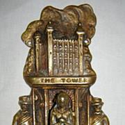 The Tower of London Door Knocker - Circa 1910 -1920