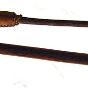 ZULU Hunting Assegai & Knobkierrie - 19 th Century