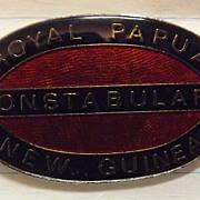 Royal Papua New Guinea Constabulary Badge