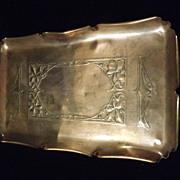 WMF Art Nouveau Copper & Brass Tray -Circa 1890-1910