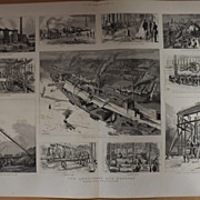The Armstrong Gun Factory, Newcastle. - The Graphic 1887