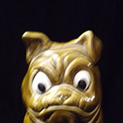"Sylvac ""Bulldog"" Penny Bank Money Box"