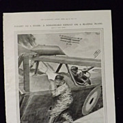WWI Aerial Warfare -Illustrated London News 1918