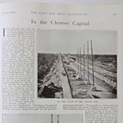 In The Chinese Capital - The Navy & Army Illustrated 1900