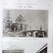 Life in China - The Navy & Army Illustrated 1900