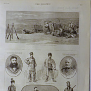 The Graphic 1885- The Crisis In The Bulgarian Peninsula