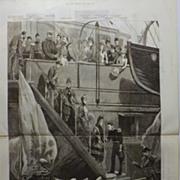 The Graphic 1885 - British & European Royalty in Denmark