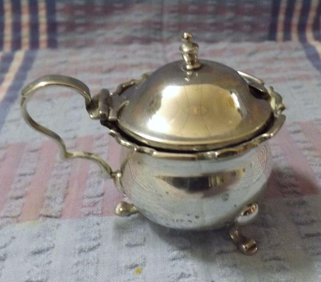 1925  Sterling Silver Salt Pot