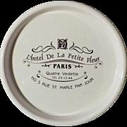 L'Hotel De La Petite Fleur Paris - Advertising Dish