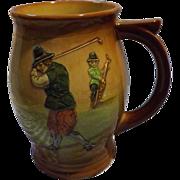 Royal Doulton Kingsware 'Charles Crombie' Golfers Tankard