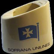Sofrana Lines Advertising Ashtray