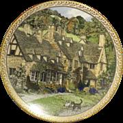 Royal Worcester 'Villages' - Broadway- Sue Scullard 1991