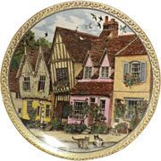 Royal Worcester 'Villages' - LAVENHAM - Sue Scullard 1991