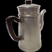 Vintage French Stove Top Coffee Percolator - Circa 1950's