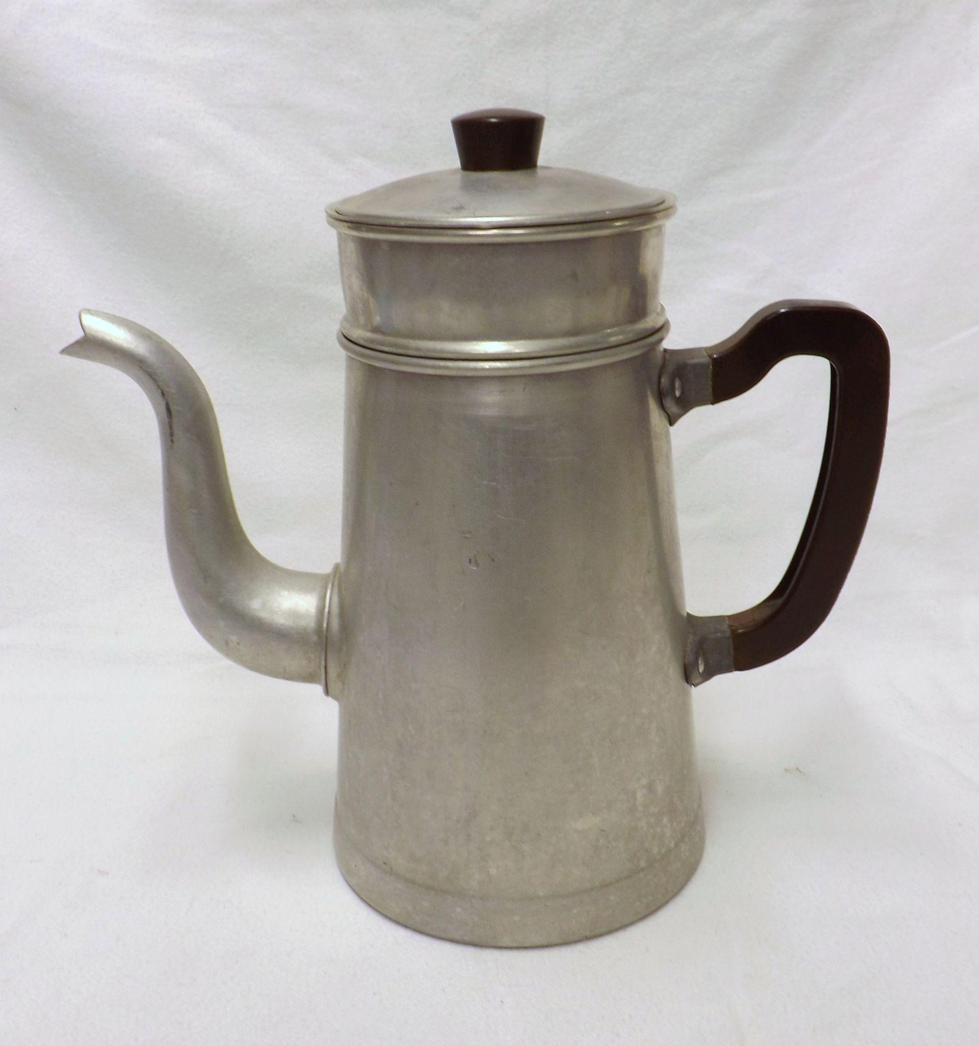 Vintage french stove top coffee percolator circa 1950 39 s for Best coffee percolator
