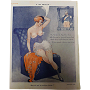 Risque French Cartoon - Sourire Magazine 1931