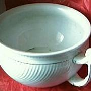 """Victorian Porcelain Art Nouveau Chamber Pot Or """"Potty"""""""