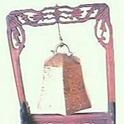 Vintage Oriental Bell Stand