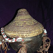 Vintage Polynesian Islands Carry Pot