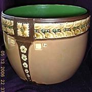 English Edwardian Pottery Jardiniere