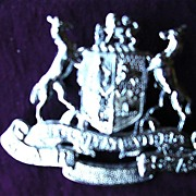 Vintage South African Railways Coat of Arms Badge